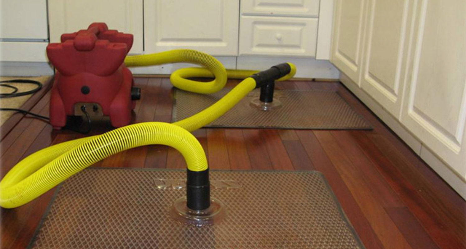 Water Damage Repair and Remediation on Hardwood Floors
